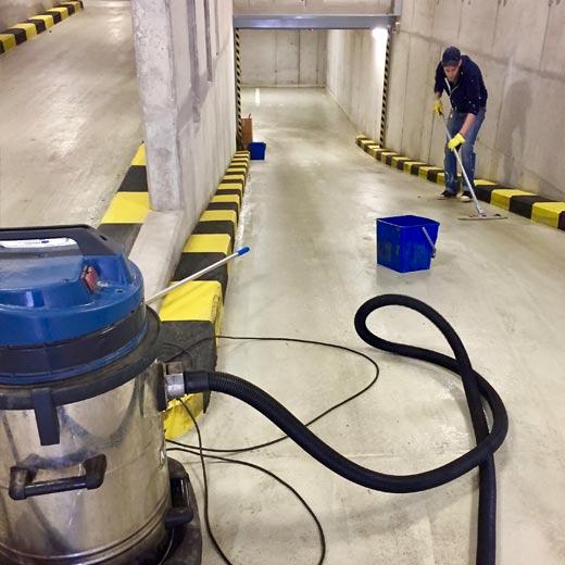 czyszczenie garaży podziemnych