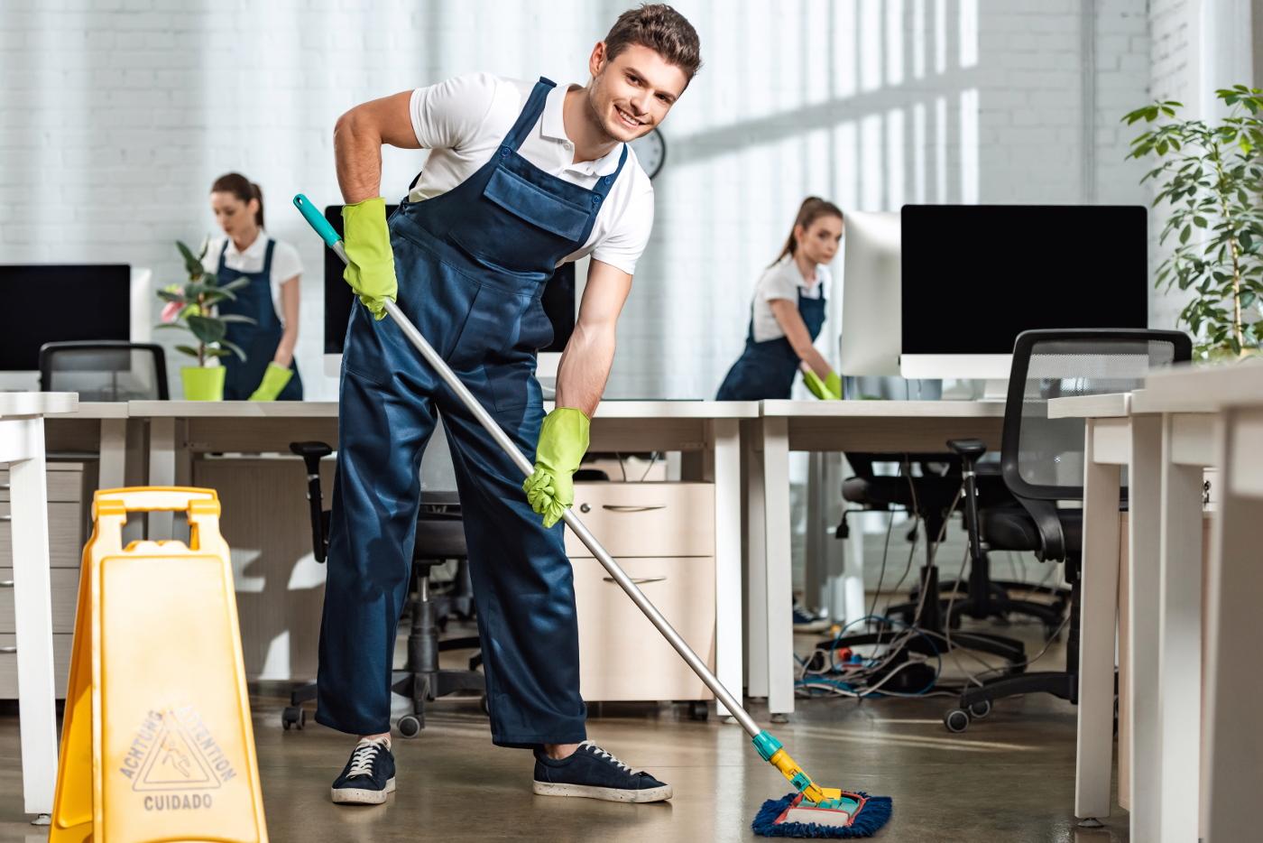 profesjonalne sprzątanie biur